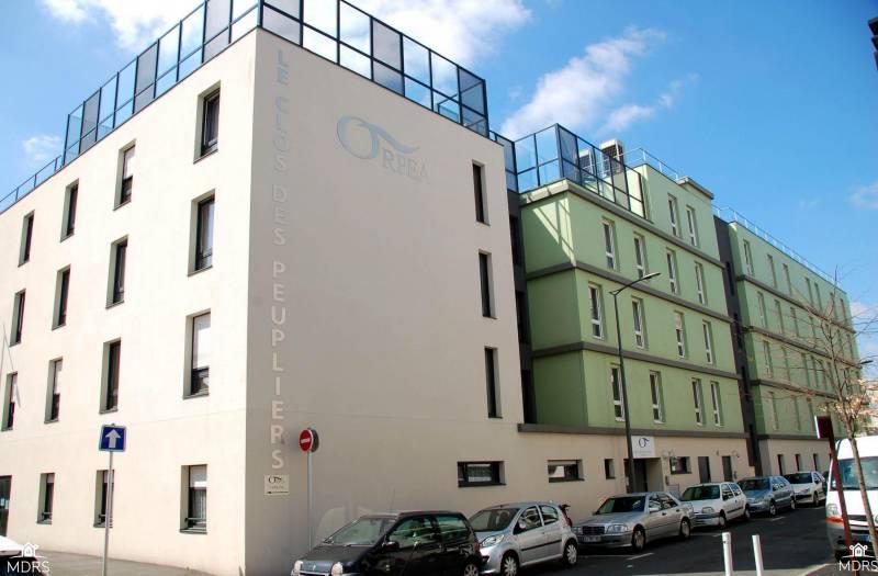 R sidence le clos des peupliers bobigny 93 for Architecture unite alzheimer